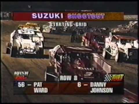 "Rush Hour on DIRT ""Suzuki Shoot-Out"" Cayuga County Fair Speedway 1998"