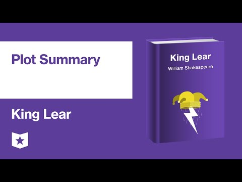 King Lear By William Shakespeare | Plot Summary