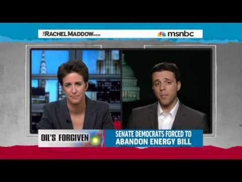 Rachel Maddow - Post Spill Oily Business - Ezra Klein