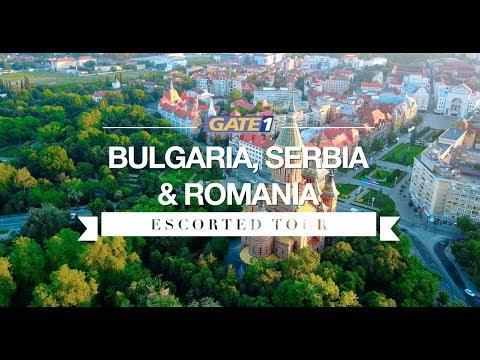 Bulgaria, Serbia, Romania Escorted Tour
