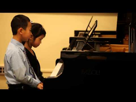 Alyssa played duets in Ensemble Festival, Oregon Music Teacher Association -- Portland District