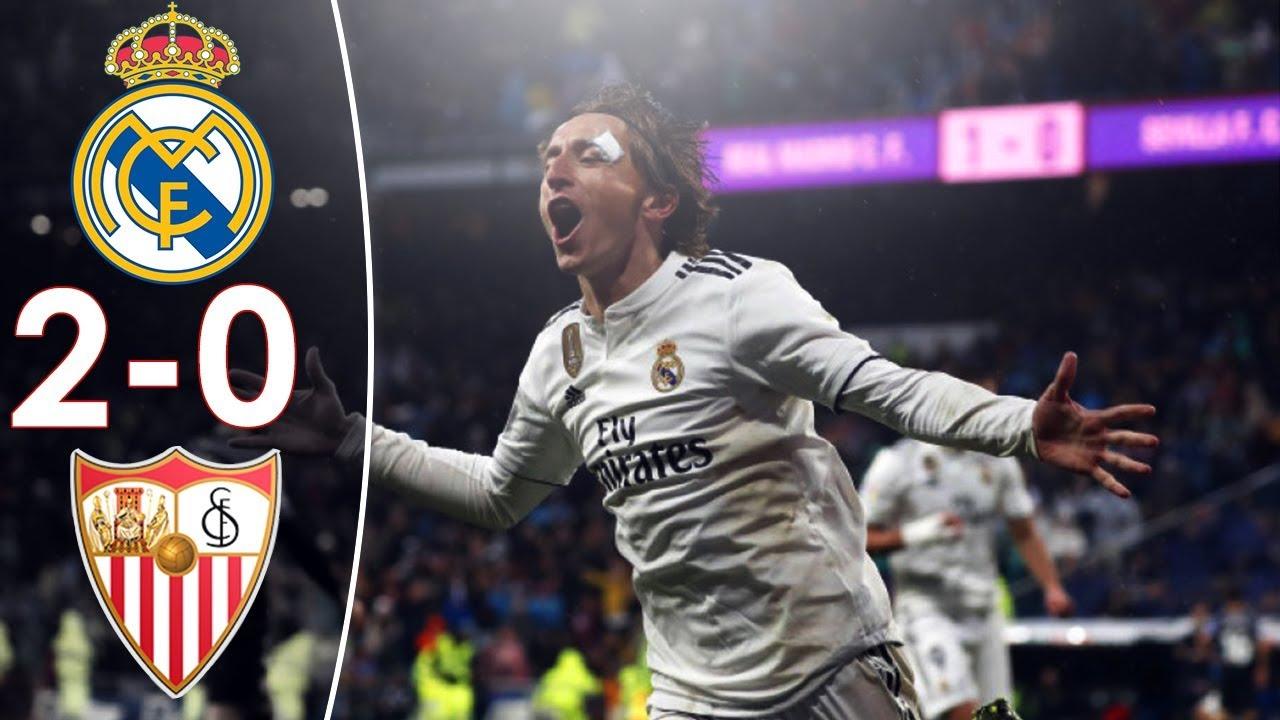 Real Madrid vs Sevilla 2-0 Highlights with Ray Hudson ...
