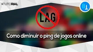 Como diminuir ping de jogos online [100%]
