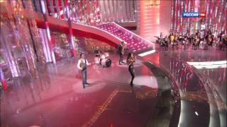 А-Студио - Утренняя гимнастика ( Субботний вечер Россия HD )