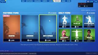 Fortnite Live Item Shop Countdown 10 Sept 2019 is PENNYWISE Skin Comming ? // Fortnite Battle Royale