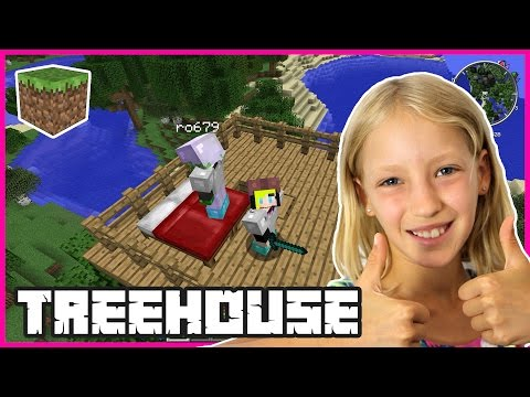 Starting Our Treehouse | Minecraft
