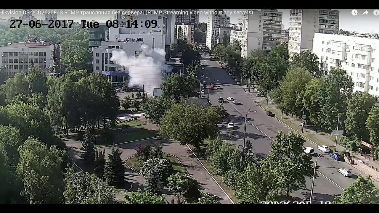 Теракт в Киеве: Взорван автомобиль