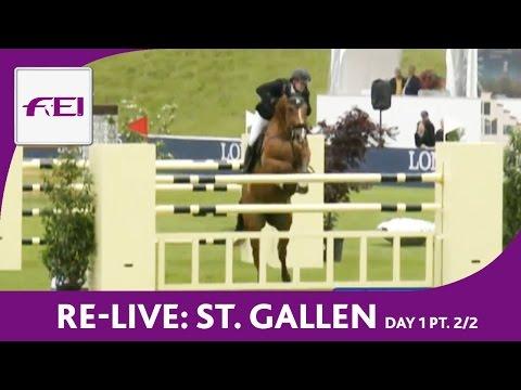 Bild: Reitsport LIVE - Longines CSIO St. Gallen - Day 1 Part 2/2