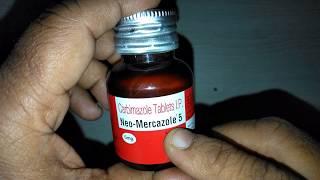 Neo Mercazole 5 Tablets review Best Treatment of Hyperthyroidism