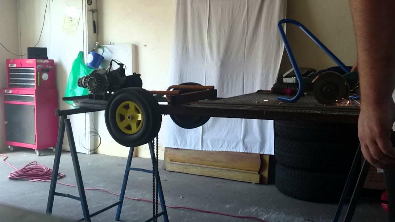 hirnfrei1 tag3 des kettcar tuning mit dem pocketbike motor. Black Bedroom Furniture Sets. Home Design Ideas