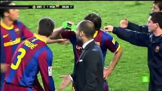 Real Betis 3 - 1 FC Barcelona  19-01-2011