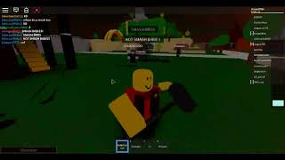 ROBLOX-too annoying gringo guy and a shit (Blood flow and the worst game)