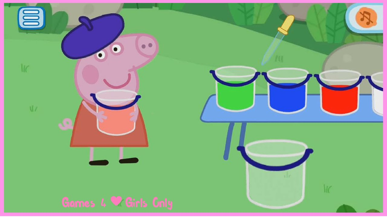 Peppa Pig Mini Games