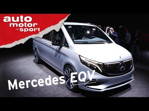 Mercedes-Benz Concept EQV (2020) - GENF 2019 I auto motor und sport
