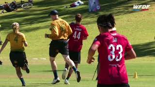 2018 WU24UC - Australia vs Canada Mixed Bronze Medal Match Day 6 - Reupload