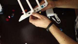 xiaomi Router 3 на Уфанет подключение тест скорости