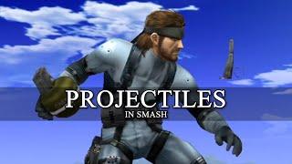 Projectiles In Smash Bros