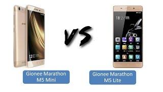 Gionee Marathon M5 Mini Vs Gionee Marathon M5 Lite Comparison & Full Review