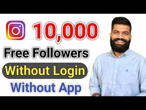 How to increase Unlimited followers on instagram without login | Instagram Par Follower Kaise badaye