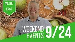 Weekend Events September 28, 2018