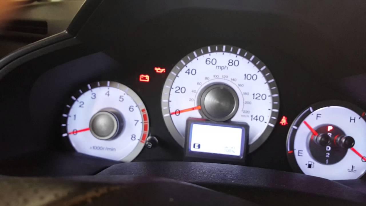 14 Honda Pilot Oil Life Reset >> 2012 Honda Pilot Oil Change Service Reset Service Code A 124 Youtube