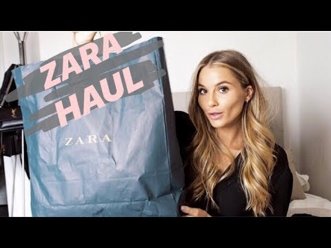 ZARA & TOPSHOP TRY ON HAUL | NADIA ANYA