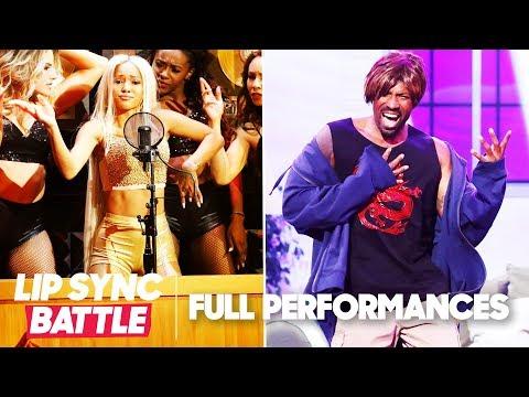 "Karrueche Tran's ""Bodak Yellow"" vs. Deon Cole's ""Torn"" | Lip Sync Battle"