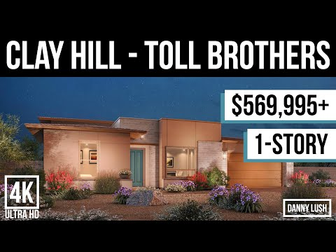 The Clay Hill by Toll Brothers - New Homes for Sale at Regency in Summerlin Las Vegas