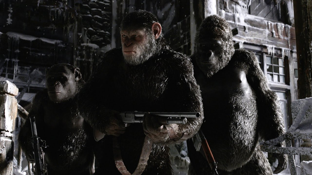 Download 'War for the Planet of the Apes' Official Trailer (2017)