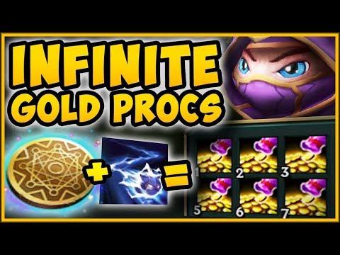 MAX GOLD GENERATOR! UNLIMITED GOLD PROCS FROM KLEPTO KENNEN?? KENNEN SEASON 9! - League of Legends