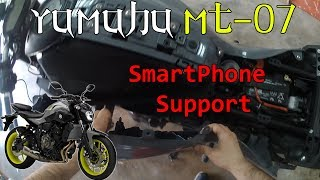 Installing X-Grip RAM Motorcycle Cellphone Holder USB Charger