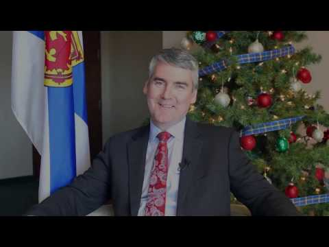 Holiday Message from Premier McNeil to NSLP Members 2016