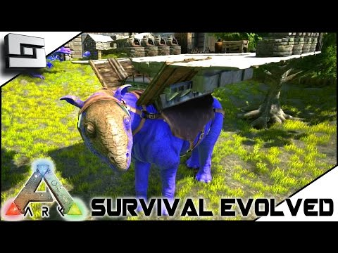 ARK: Survival Evolved - TAMING A 100+ PARACERATHERIUM! S2E21 ( Gameplay )