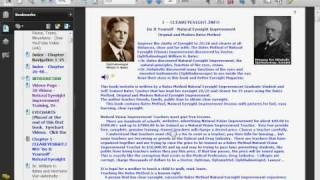 Natural Eyesight Improvement  Chapter 1 - Ophthalmologist William H. Bates and Hermann Von Helmholtz