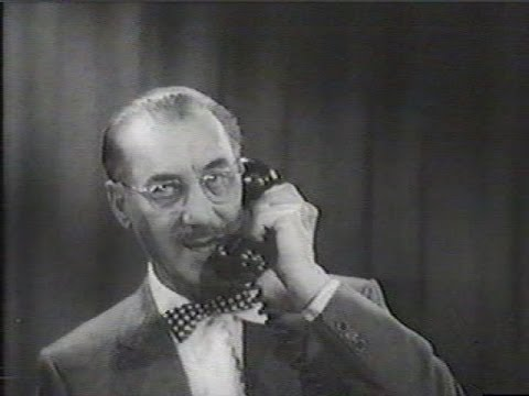 You Bet Your Life #57-24 Groucho tests his popularity with