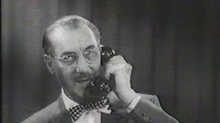 You Bet Your Life #57-24 Groucho tests his popularity with a phone survey ('Room', Mar 6, 1958)