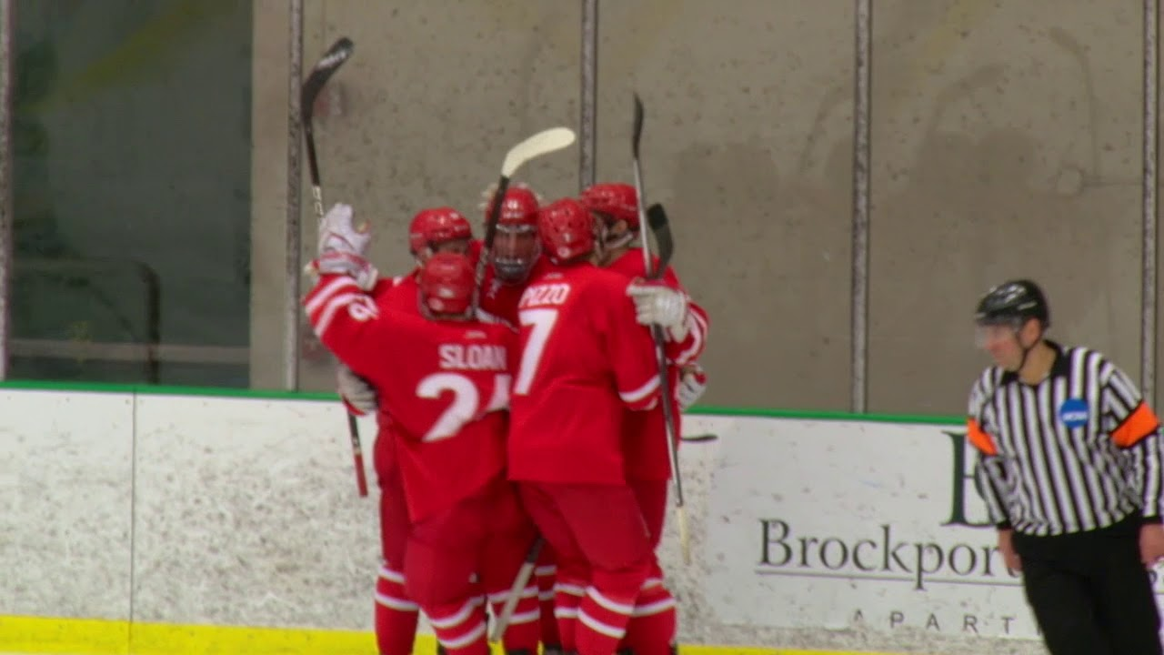 Highlights: Brockport vs Plattsburgh Hockey – Talon Television