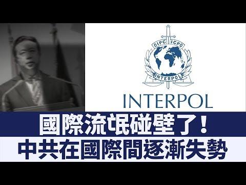 拒絕中共操控!國際刑警組織撤銷「紅色通緝令」 新唐人亞太電視 20190905