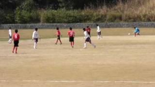 【フォルトゥナ延岡FC】対【合志中学校】後半