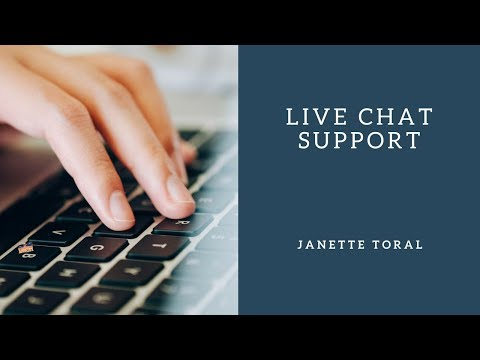 Live Chat Support (Lesson 4)
