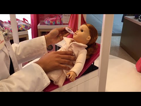 Doll Hospital Visit For American Girl Doll Blaire