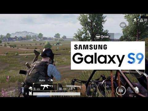 PUBG Mobile Galaxy S9 Gaming Test [Exynos 9810]