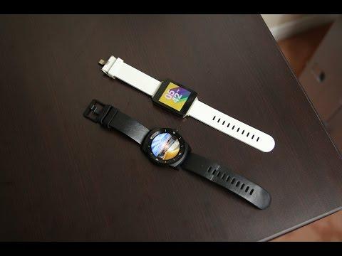 LG G Watch R vs LG G Watch