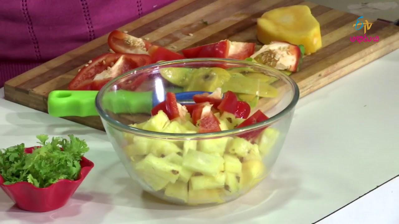 Mango Salad | Diet Menu | 16th August 2017 | Full Episode | ETV Abhiruchi