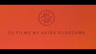 Akira Kurosawa Vlogs #2: The Most Beautiful