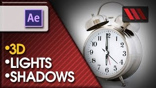 Creating lights and casting shadows in Adobe After Effects CS6