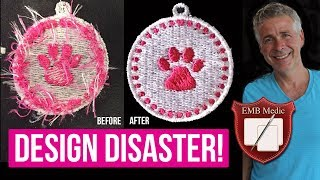 How To Remove Jumps & Trims In Embroidery Designs