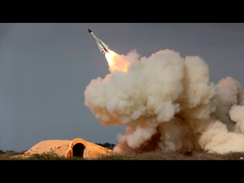 Iran's Islamic Revolutionary Guards Corps test missile systems