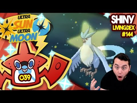 1ST ENCOUNTER SHINY ARTICUNO! BEST SHINY REACTION EVER!? Quest For Shiny Living Dex #144 | USUM #039