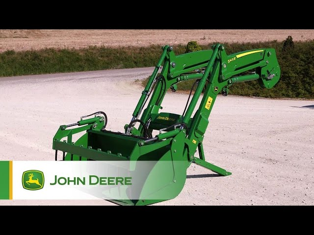 Tracteur 5R John Deere - chargeur frontal